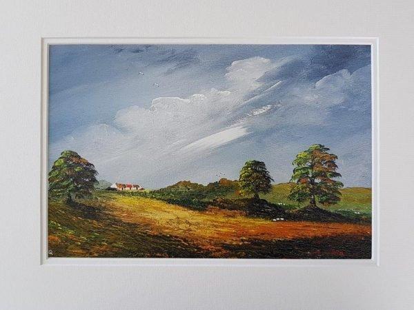 Kerry Farmhouse and Trees Irish-Landscape-Painting-Prints-for-Sale-LQ-Art-Landscape-bundle-1