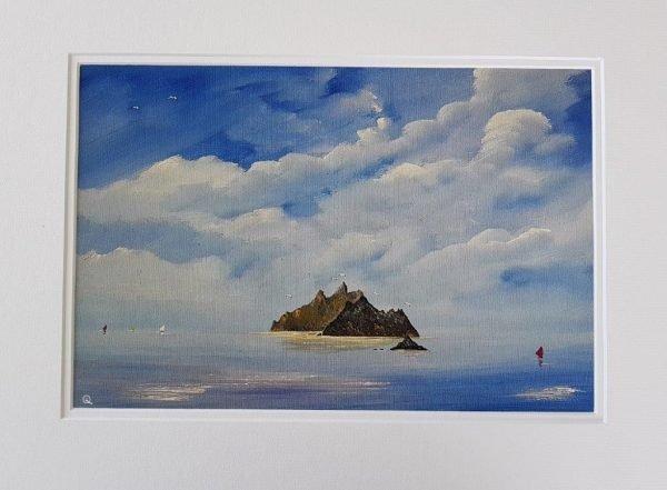Skelligs Islands and Lemon Rock Irish-Seascape-Painting-Prints-for-Sale-LQ-Art-Seascape-bundle